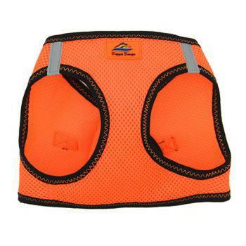 American River Ultra Choke Free Dog Harness - Iridiscent Orange