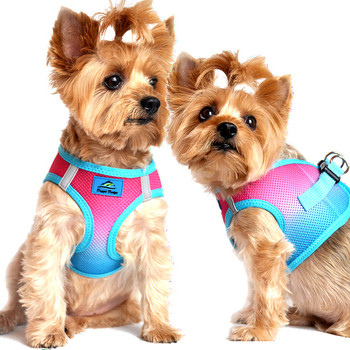 American River Ombre Collection Dog Harness - Sugar Plum