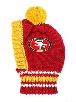 NFL San Francisco 49ers Dog Knit Ski Hat