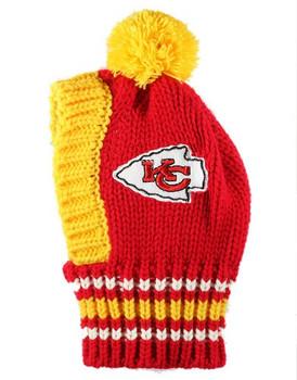 NFL Kansas City Chiefs Dog Knit Ski Hat