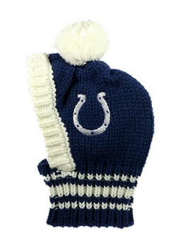 NFL Indianapolis Colts Dog Knit Ski Hat