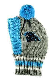 NFL Carolina Panthers Dog Knit Ski Hat