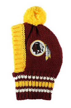 NFL Washington Redskins Dog Knit Ski Hat