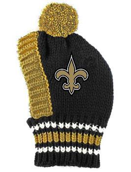 NFL New Orleans Saints Dog Knit Ski Hat