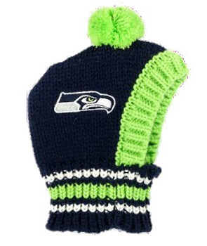 NFL Seattle Seahawks Dog Knit Ski Hat