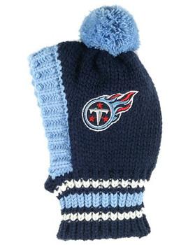 NFL Tennessee Titans Dog Knit Ski Hat