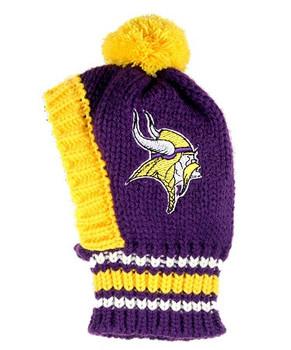 NFL Minnesota Vikings Dog Knit Ski Hat