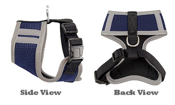NFL St. Louis Rams Mesh Dog Harnesses