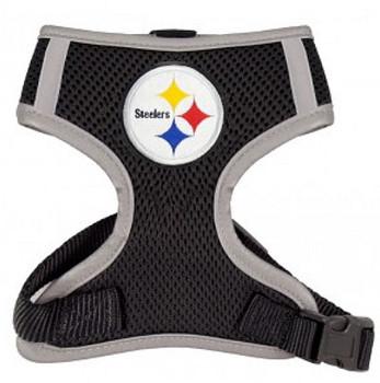 NFL Pittsburgh Steelers Mesh Dog Harnesses