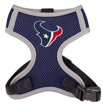 NFL Houston Texans Mesh Dog Harnesses