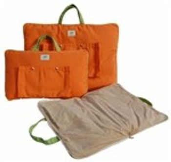 Travel Tote Pet Dog Carrier / Beds in Tangerine