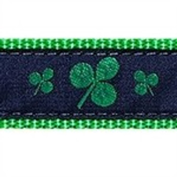 Shamrock  3/4 & 1.25 inch Dog & Cat Collar, Harness