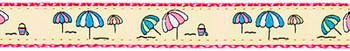 Beach Umbrellas 1/2, 3/4 & 1.25 inch Dog & Cat Collar, Harness