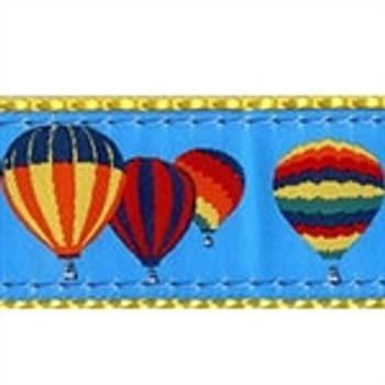 Hot Air Balloons Dog Collars