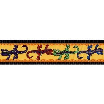 Lizard 3/4 & 1.25 inch Dog Collar, Harnesses