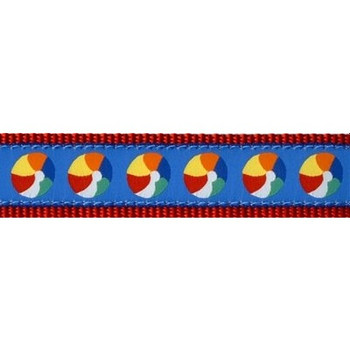 Beach Balls 3/4 & 1.25 inch Dog Collar, Harnessessories
