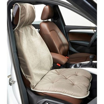Thunder Microvelvet Single Car Seat Cover