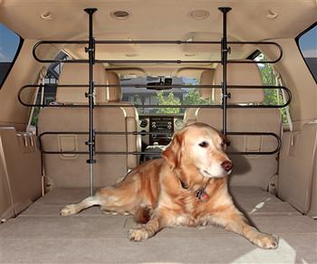 Tubular Car Pet Barrier