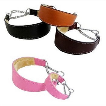 Martingale Collar w/Sheepskin Shearling Lining