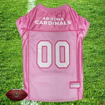 NFL Arizona Cardinals Dog Jersey - Pink