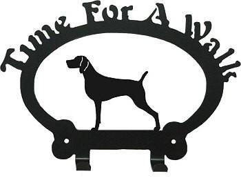 Dog Leash Holder - Weimaraner