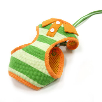 EasyGO Green Polo Pet Dog Harness & Leash