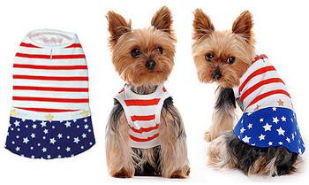 Star Spangled Dog Dress