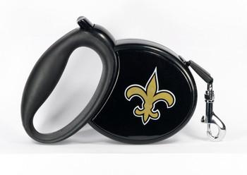 NFL New Orleans Saints Retractable Dog Leash