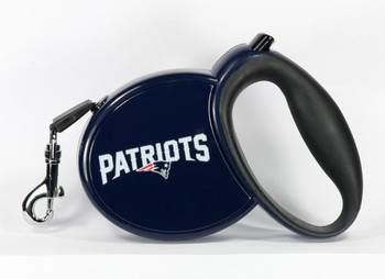 NFL New England Patriots Retractable Dog Leash