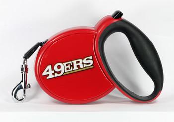 NFL San Francisco 49ers Retractable Dog Leash