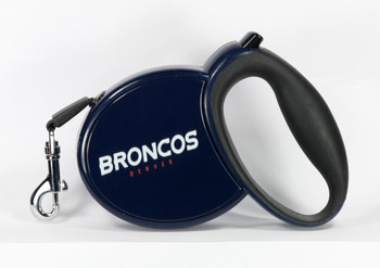 NFL Denver Broncos Retractable Dog Leash
