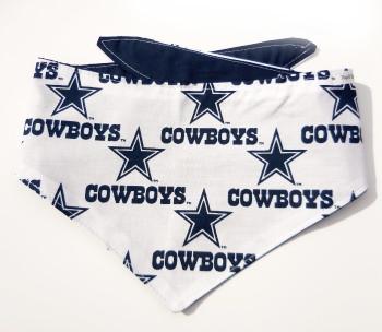Dallas Cowboys NFL Dog Bandanas