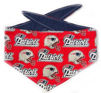 New England Patriots NFL Dog Bandanas