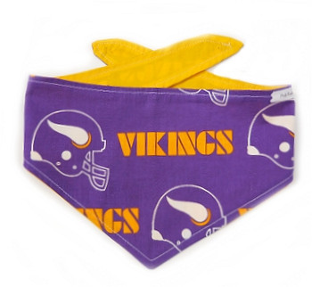 Minnesota Vikings NFL Dog Bandanas