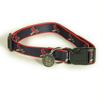 St. Louis Cardinals Dog Collar Alternate Style #2 - M/L