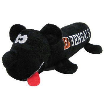 Cincinnati Bengals Plush Tube Pet Toy
