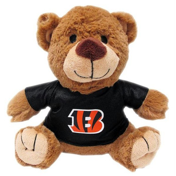 Cincinnati Bengals Teddy Bear Pet Toy