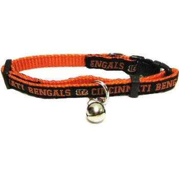 Cincinnati Bengals Breakaway Cat Collar