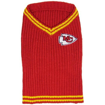 Kansas City Chiefs Pet Sweater