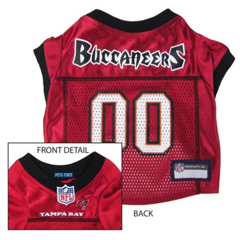 Tampa Bay Buccaneers Dog Jersey 1