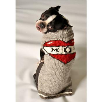 Tattooed Mom Hand Knit Dog Sweaters