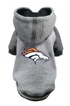 NFL Denver Broncos Licensed Dog Hoodie - Small - 3X