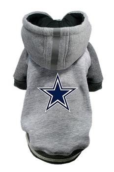 NFL Dallas Cowboys Licensed Dog Hoodie - Small - 3X
