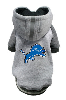 NFL Detroit Lions Licensed Dog Hoodie - Small - 3X