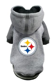 NFL Pittsburgh Steelers Licensed Dog Hoodie - Small - 3X