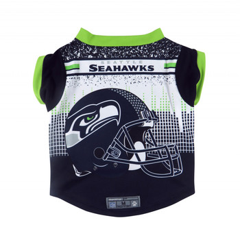 NFL Performance Pet Dog Tee - Seattle Seahawks