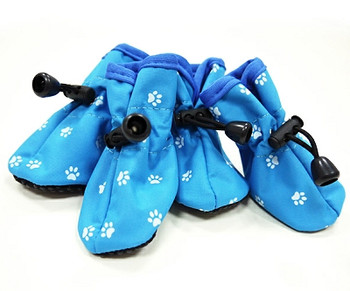 Slip On Paws Dog Boots - Blue