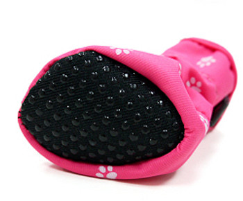 Slip On Paws Dog Boots - Pink