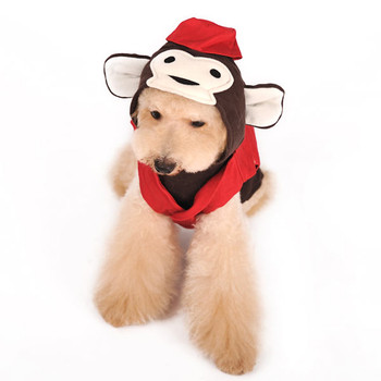 Circus Monkey Pet Dog Costume