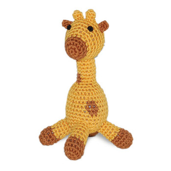 Giraffe PAWer Squeaker Dog Toy